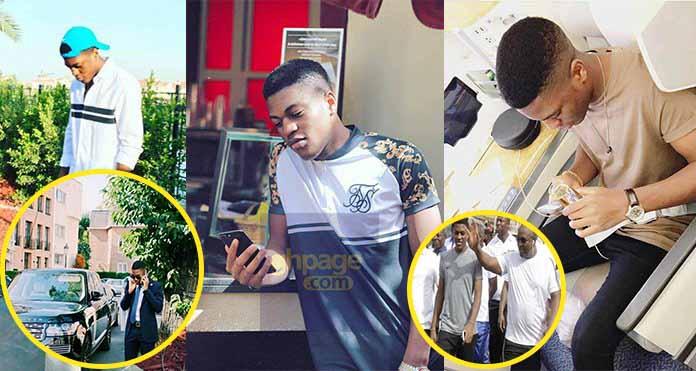 Ex-President, Mahama's Son, Sharaf Shows Off His Flashy Lifestyle