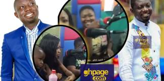 Bill Asamoah was very Weak in bed when I was dating him - Kumawood Actress Xandy Kamel Makes Shocking revelation(Video)