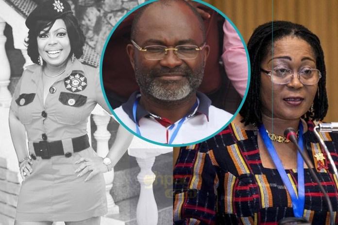 Don't respond to Kennedy Agyapong's comment - Lordina Mahama tells Afia Schwarzenegger