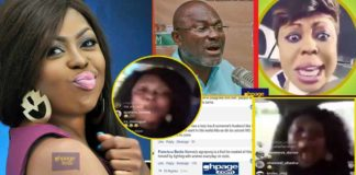 Social Media reacts to Afia Schwarzenegger's insults on Kennedy Agyapong