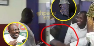 Video: Anas clashes with Kennedy Agyapong at the premises of Multimedia