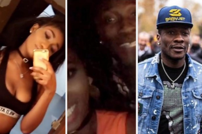 Asamoah Gyan caught hanging out with Wendy Shay