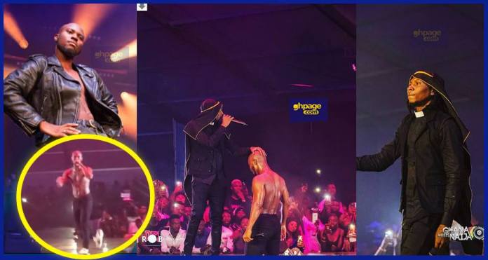 King Promise and Mugeez perform CCTV at Ghana meets Naija 2018