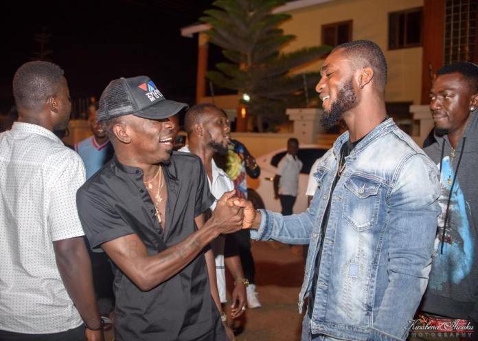 Efia Odo's new boyfriend Kwaku Reveloe with Shatta Wale
