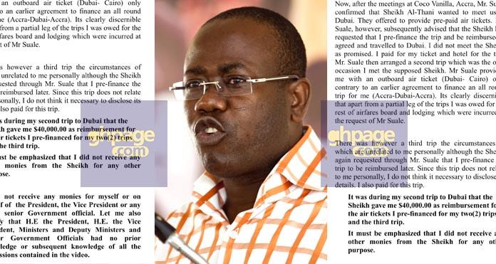 Purported Nyantakyi press release fake - PRO reveals