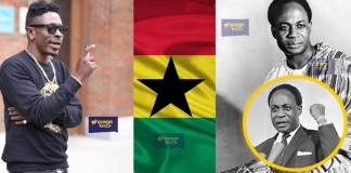 Osagyefo Dr. Kwame Nkrumah shouldn't have fought for Ghana's independence - Shatta Wale