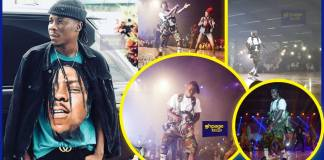 Stonebwoy's thrilling performance at Ghana meets Naija 2018 (Video)