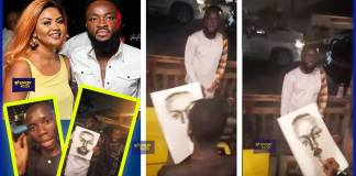 Nana Ama Mcbrown's husband Maxwell amazed by the talent of a young artist