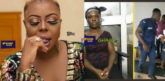 Afia Schwarzenegger prays for a Police to beat her up