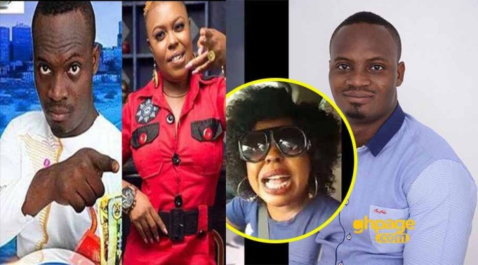 Prophet Adom responds to Afia Schwarzenegger's insults and curses over his prophecy on her