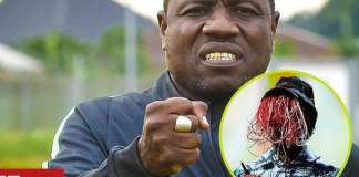 Nigerian head coach caught receiving bribe from players