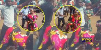 Video of a Muslim woman twerking to Patapaa's One Corner at her wedding