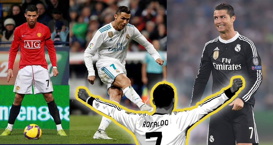 best sneakers e8f97 a5dce This is why Cristiano Ronaldo wears long sleeves when ...