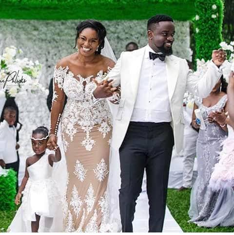 Sarkodie Tracy and Titi - Exclusive video from Sarkodie's daughter, Titi's birthday party