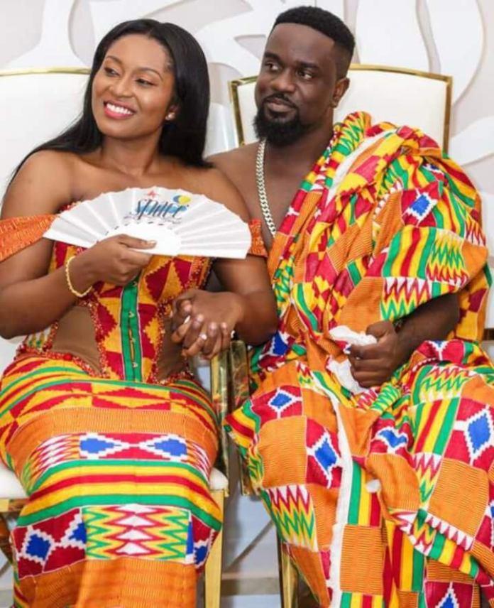 Sarkodie Tracy marriage ceremony 3 - I don't mind being Sarkodie's 2nd wife – Pamela Odame