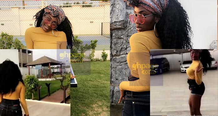 Video: Ebony's replacement, Wendy Shay shows off her mansion and cars