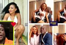"Kofi Adjorlolo and Rosemond Brown caught ""chopping love"""