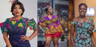 7 curvy Ghanaian celebrities that look great in African prints