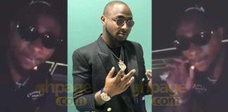 Nigerian superstar Davido has been spotted in a video smoking 'marijuana'.
