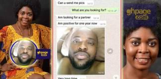 Joyce Dzidzor Mensah exposes her 'HIV' boyfriend who is intentionally spreading the virus