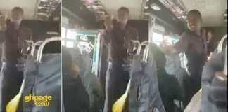 Kenyan Bus Preacher goes berserk after receiving 50p offering