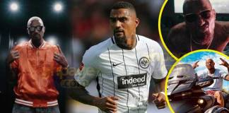 The Ghanaian-German footballer, Kevin Prince Boateng has taken after the likes of Asamoah Gyan his one-time national captain because he's now a musician too alongside football.