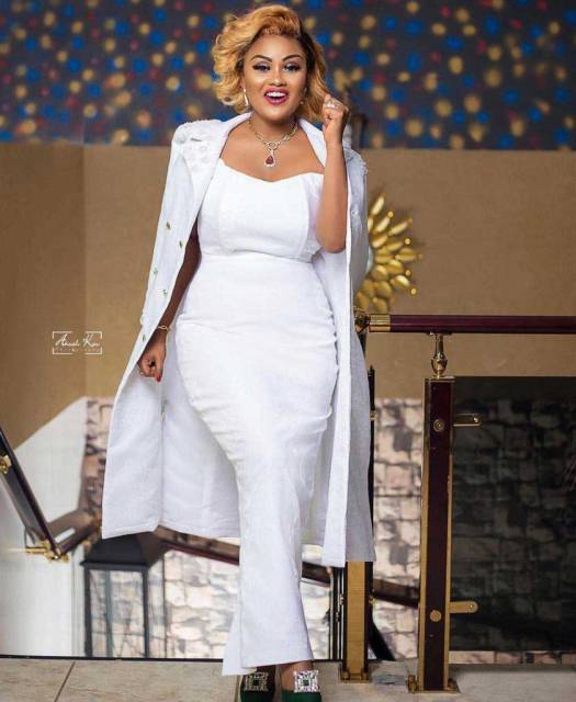 Nana Ama Mcbrown Shocked The Whole Ghana As She Celebrate Her Birthday With Nsawam Prisons Inmates