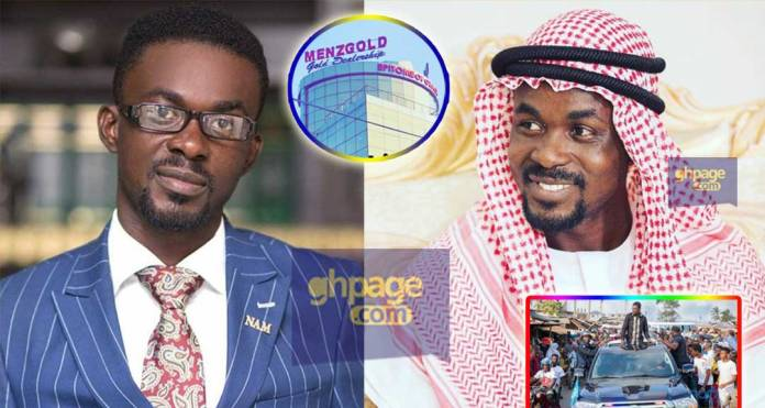 Menzgold not licensed to sell gold in Ghana