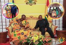 All the photos you missed when Otumfuo visited Nana Addo at the Jubilee House [See Photos]