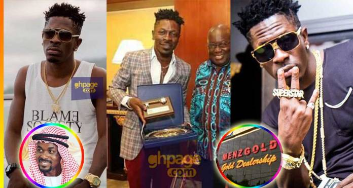 If Menzgold goes down it means Akufo-Addo hates the youth – Shatta Wale