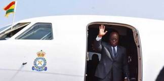 Akufo-Addo saved from plane crash