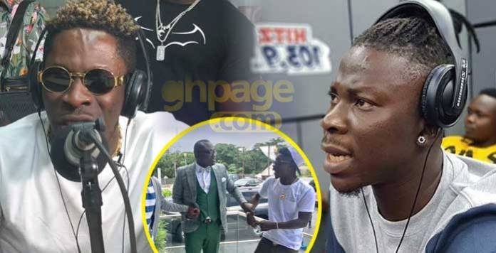 Image result for Stonebwoy is weak and acts like a 'crybaby' – Shatta Wale mocks Stonebwoy