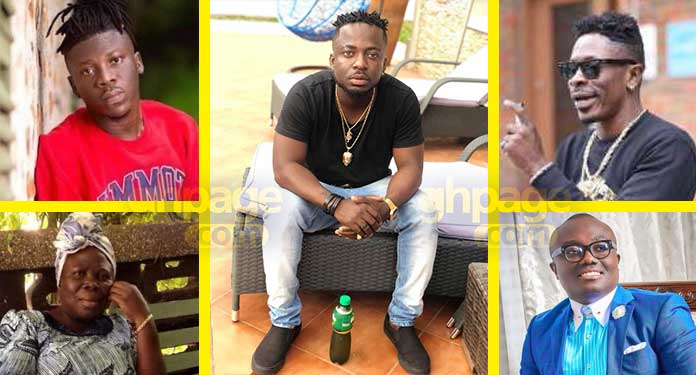 Shatta Wale-Stonebwoy's fight in London-brother explains what transpired