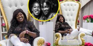 More photos and video from Ebony Reigns' sister, Foriwaa Opoku Kwarteng's surprise birthday party