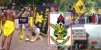 "KNUST Security and students clash over ""Friday Jama Rituals"""