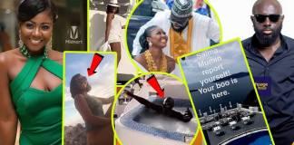 Kofi Asamoah and actress Salma Mumin spotted chilling in the Bahamas