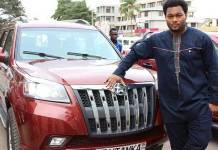 CEO of Kantanka automobile drives a Mercedes Benz -