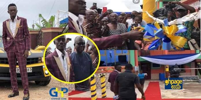 Video: Nkansah Lilwin launches his new school in Kumasi - Kumawood stars were there to support