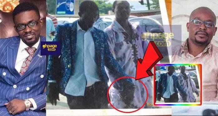 Throwback photo alleging to be NAM1 & William Atsu in handcuff pops up