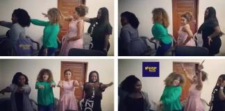 Lydia Forson, Nadia, Jackie and Ekeh dance in an epic throwback video