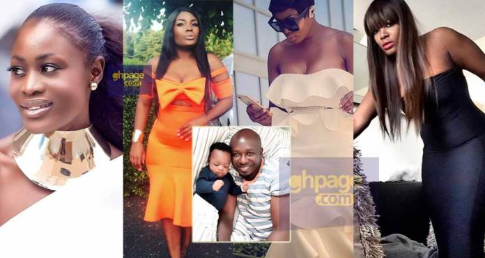 Meet Jenny Brown,lady who allegedly snatched Nana Akua Addo's hubby