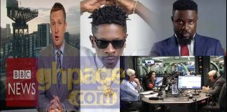 Sarkodie's diss song to Shatta Wale featured on BBC