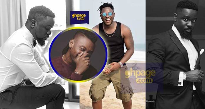 Sarkodie exposed after he lied to a Cameroonian rapper