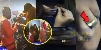 Michy flaunts the ring Shatta Wale used to propose to her on stage