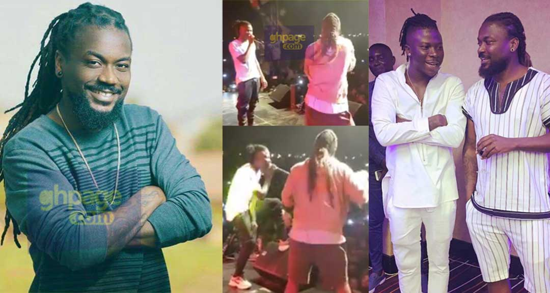 Watch Stonebwoy and his Godfather, Samini's full performance at Ashaiman To The World Concert 2018