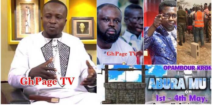 Ebenezer pours menses & virgin blood into Aburamunsuo-Computer Man