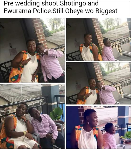 Actor Joe Shortingo reportedly set to marry gospel singer Ewurama Police