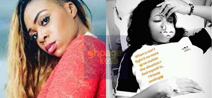 Shatta Michy hospitalized after complaining of being sick