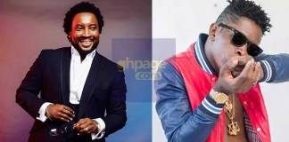 "Sonnie Badu sings along to Shatta Wale's ""My Level"" song"