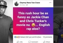 Sarkodie is wack when he raps in English - Chymny Crane